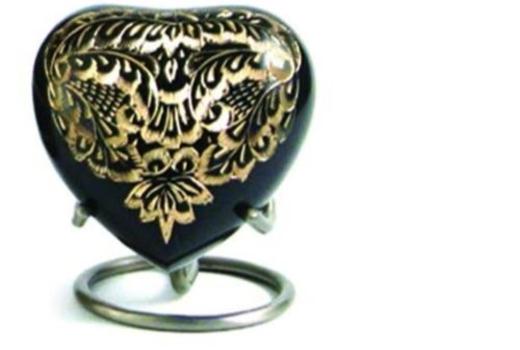 $Engraved Brass Heart