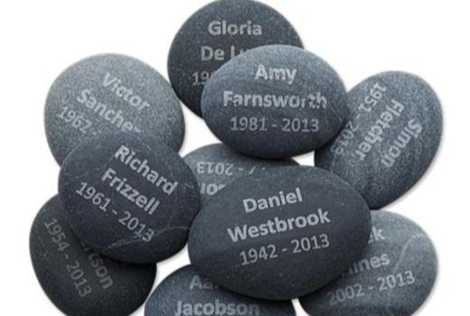 $Tribute Stones