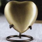 Gold Heart Keepsake