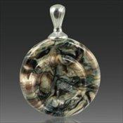 Helix Pendant - Black Granite
