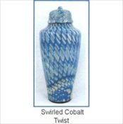 Swirled Cobalt Twist