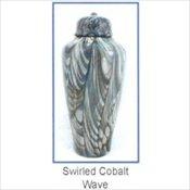 Swirled Cobalt Wave