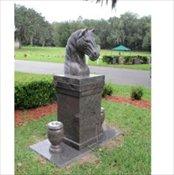 Horse Pedestal
