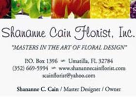 Shananne Cain Florist