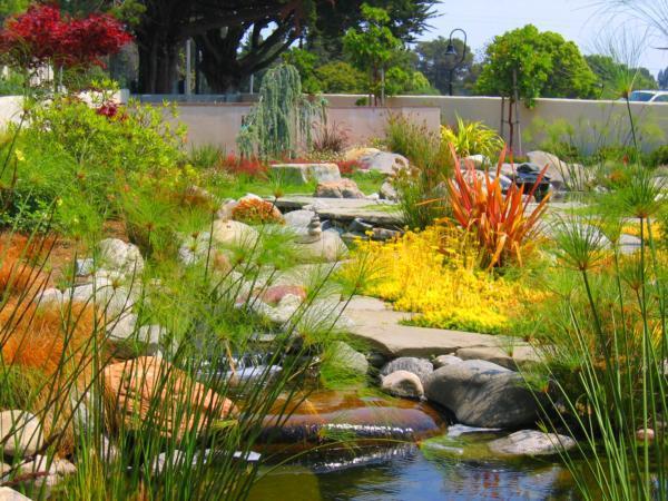Mariposa Garden at Mission Chapel   Santa Cruz Memorial - Santa Cruz, CA