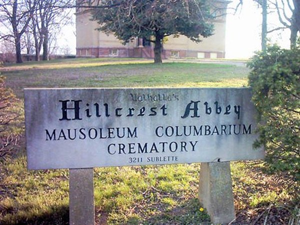 The Oldest Crematory in Missouri [or West of the Mississippi] established in 1885.
