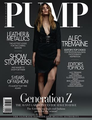 PUMP Magazine - The High-End Fashion & Beauty Edition