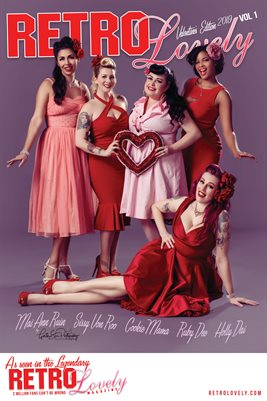Retro Lovely Valentine 2019 - VOL 1 – Holly Dai   Sissy Von Roo Mai Ann Ruin   Ruby Dee  Cookie Mama Cover Poster