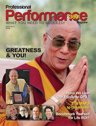 Dalai Lama Edition - PERFORMANCE/P360 Magazine - V. 21, I. 4