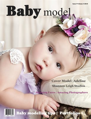 Baby Model magazine Issue 9 Volume 4 2018