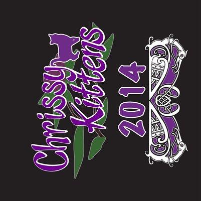Chrissy Kittens 2014 Calendar