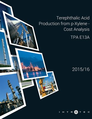 Terephthalic Acid Production from p-Xylene - Cost Analysis - TPA E13A