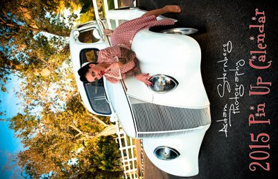 2015 Pin UP Calendar To Support the USO - Adam Sternberg Photography