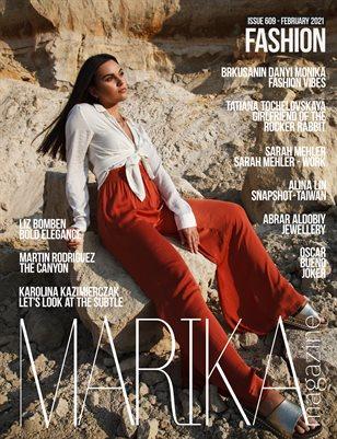 MARIKA MAGAZINE FASHION (ISSUE 609 - February)