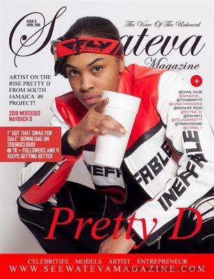 Seewateva Magazine  issue 9 pretty d