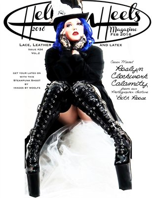 Hell on Heels Issue #24 Vol.2 Lace, leather and Latex 2016