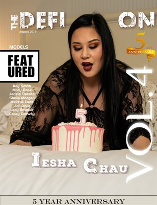 TDM: 5yr Anniversary Iesha Chau Cover 2 Vol 4 August 2019