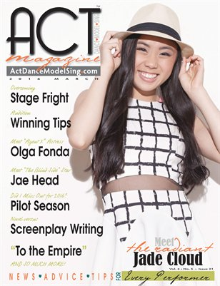 ACT Dance Model Sing Magazine Issue 21