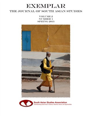 Exemplar: The Journal Of South Asian Studies - v2n1