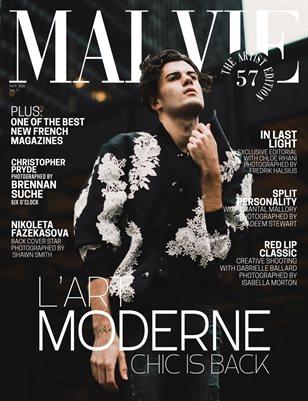 MALVIE Mag The Artist Edition Vol 57 November 2020