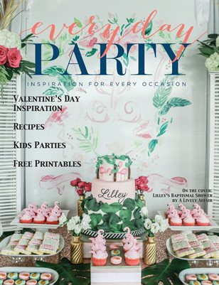 Everyday Party Magazine Spring 2017