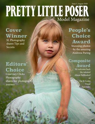 Pretty Little Poser Model Magazine - August 2020 - Issue 3