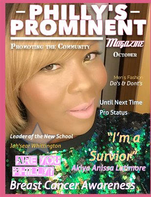 Philly's Prominent Magazine October's Edition