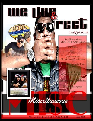 We Live & Direct May Issue