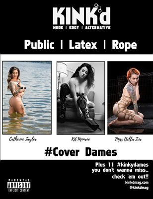 Kink'd Mag Public Latex Rope