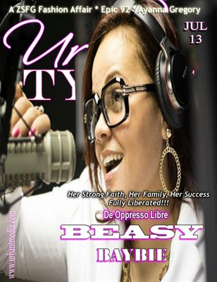 Urban Tymes July 2014 Volume 5-Beasy Baybie