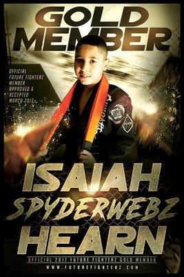 12x18 Isaiah Hearn  Gold Member/Diploma Poster