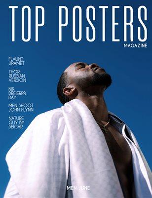 TOP POSTERS MAGAZINE- MEN JUNE