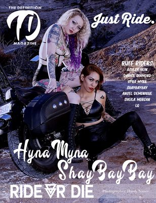 The Definition: Hyna Myna - ShayBayBay Ride or Die Bike Edition Vol 2 Cover 2July 2021