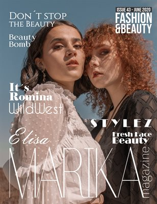 MARIKA MAGAZINE FASHION & BEAUTY ( June - issue 43)