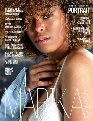 MARIKA MAGAZINE PORTRAIT ( ISSUE 635 - February )