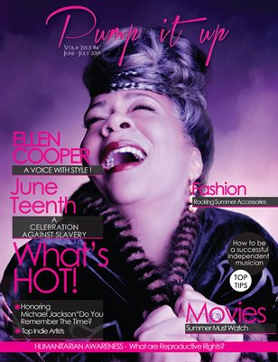 Pump it up Magazine - Vol.4 - Issue #4 - Ellen Cooper