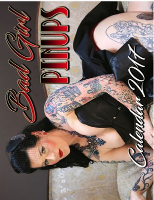 2017 Bad Girl Pinups Calendar