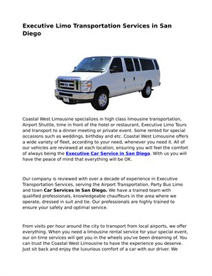 Hummer Limo Seattle San Diego