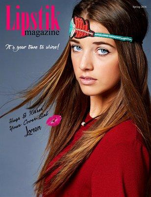 Lipstik Magazine Spring 2016