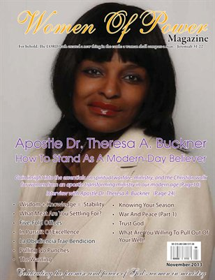 Women of Power Magazine, November 2013