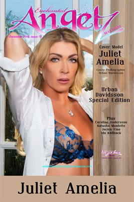 ENCHANTED ANGELZ MAGAZINE COVER POSTER - URBAN DAVIDSSON SPECIAL EDITION - Cover Model Juliet Amelia - December 2019