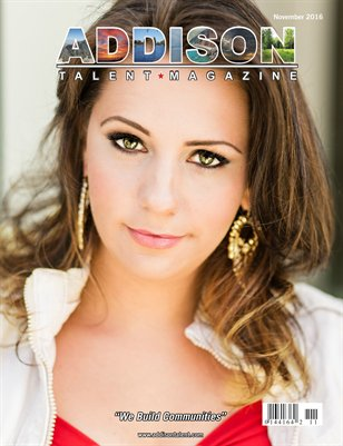Addison Talent Magazine November 2016 Edition