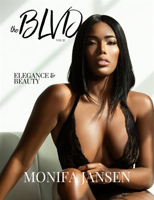 The Boulevard Magazine Vol. 21 ft. Monifa Jansen