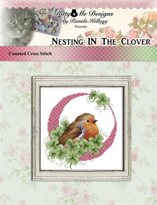 Nesting In The Clover Cross Stitch Pattern