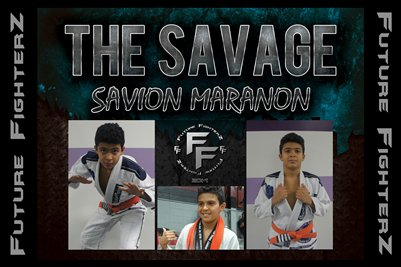 Savion THE SAVAGE Maranon Poster