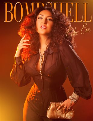 BOMBSHELL Magazine May 2018 - BOOK 1 Edie Eve Cover