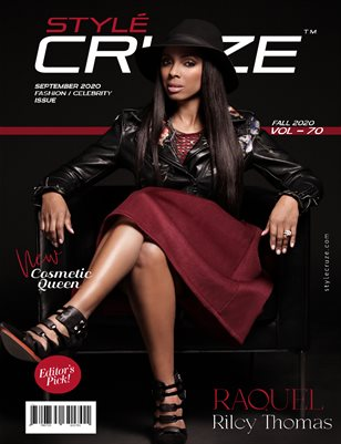 SEPTEMBER 2020 Issue (Vol: 70) | STYLÉCRUZE Magazine