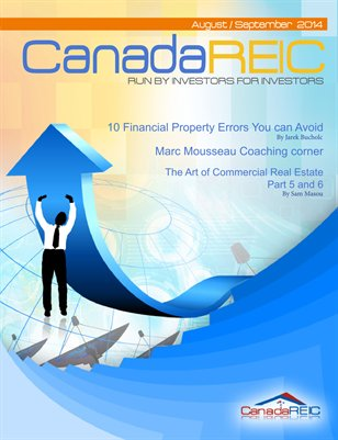 Canada REIC Magazine August/September 2014