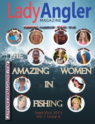 Vol 1 Issue 5 Lady Angler Magazine Sept-Oct 2013