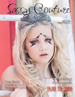 Sassy Couture Magazine Volume #1 Issue Four